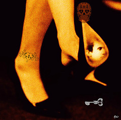 J´cass´rai les frimeurs................  J´leur f´rai des croche-pattes...Et si ma dépouille Part les pieds devant,  On va rigoler En tête du cortège,