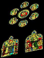 brighton st.michael.chancel glass