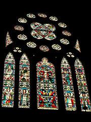 brighton st.michael. old chancel east window