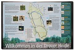 Drover Heide, Schild