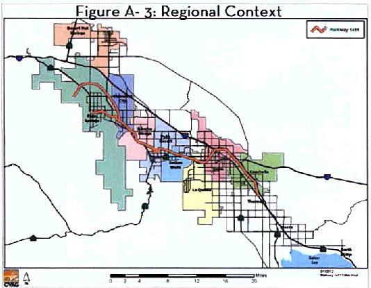 CVAG Proposed 1e11 Route