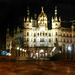 Castle of Schwerin by night