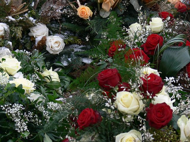 letzte Blumengrüße