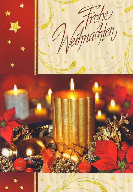 Frohe Weihnachten wünschen allen Dorothea und Hans-Georg Kaiser!