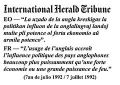 (EO-FR) — International Herald Tribune