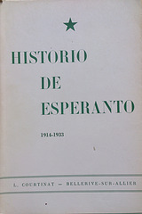 L. Courtinat: Historio de Esperanto, vol 2