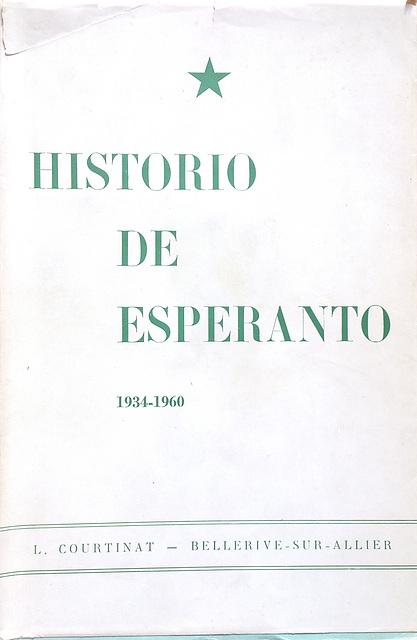 L. Courtinat: Historio de Esperanto, vol 3
