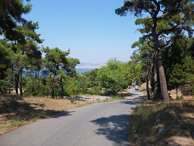 Les routes de Büyük Ada.