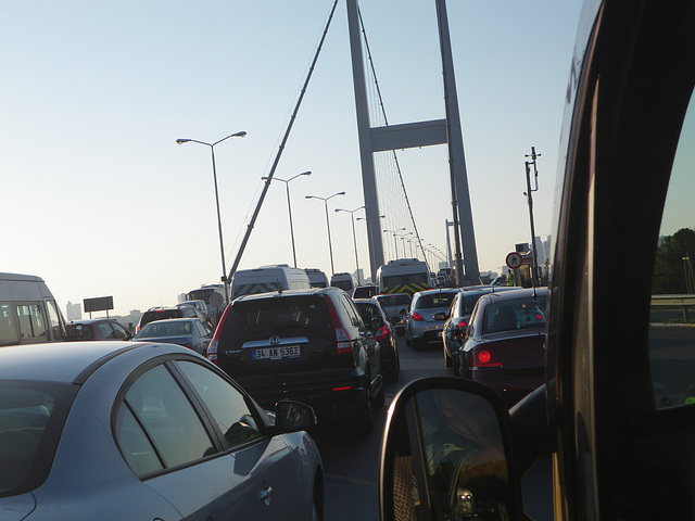 Sur le pont d'Artaköy