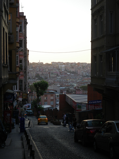 L'Istanbul moderne.