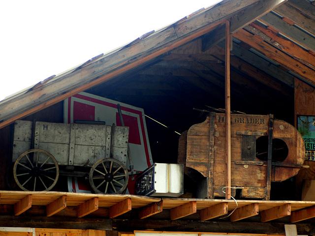 alter Bollerwagen
