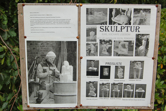 skulptisto Karl Wichary