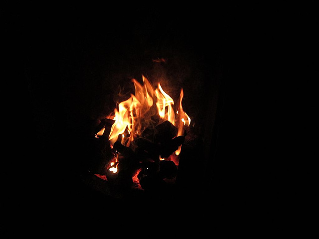 Nice warming fire