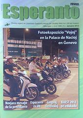 Revuo Esperanto, 106-a jaro, n-ro 1265 (1), januaro 2013