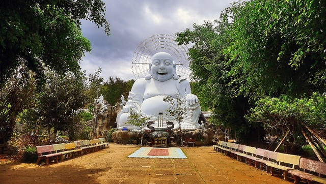 Happy Buddha in Vietnam 1