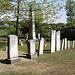 Cimetière du Vermont / Vermont cemetery - 24 mai 2009 / Recadrage
