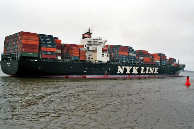 Containerschiff   NYK  LIBRA