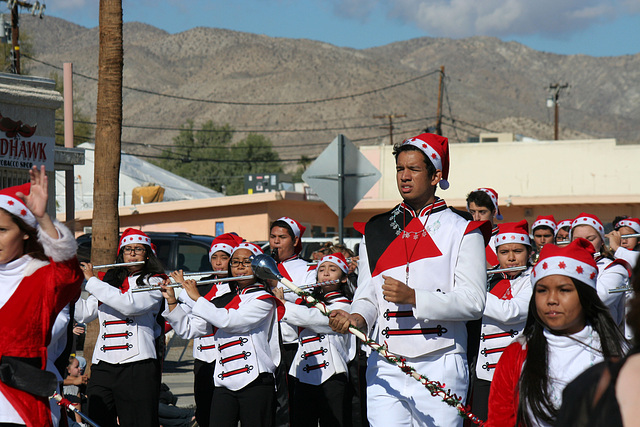 DHS Holiday Parade 2012 - Palm Springs High School Band (7804)