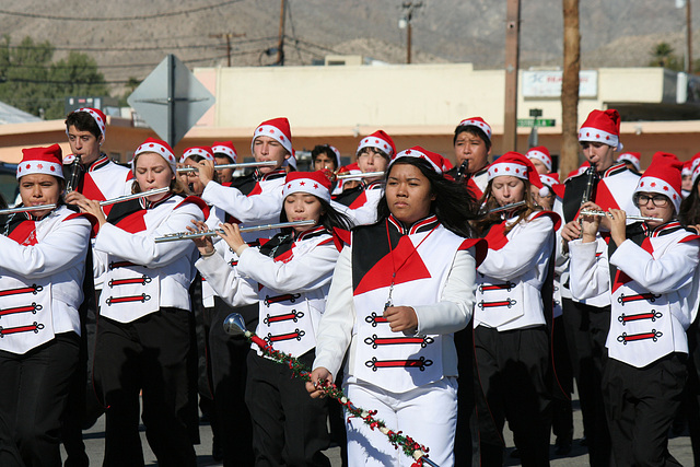 DHS Holiday Parade 2012 - Palm Springs High School Band (7805)
