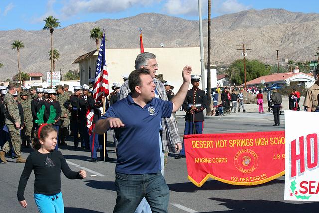 DHS Holiday Parade 2012 - Dr. Brian McDaniel (7530)