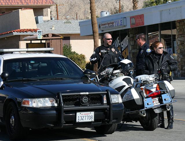 DHS Police at DHS Holiday Parade 2012 (7460)