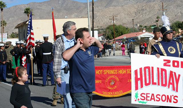DHS Holiday Parade 2012 - Dr. Brian McDaniel (7531)