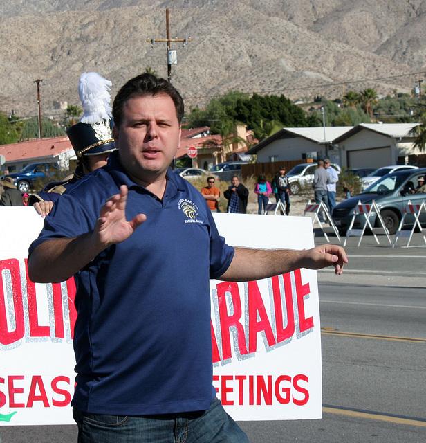 DHS Holiday Parade 2012 - Dr. Brian McDaniel (7535)