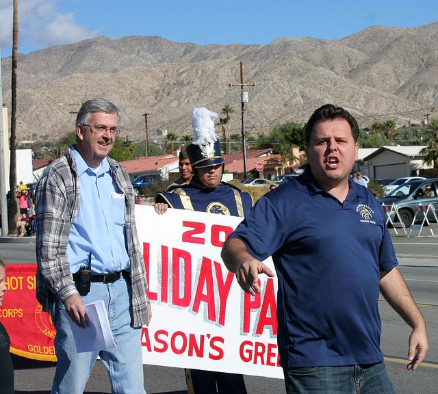 DHS Holiday Parade 2012 - Dr. Brian McDaniel (7536)