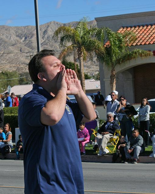 DHS Holiday Parade 2012 - Dr. Brian McDaniel (7542)