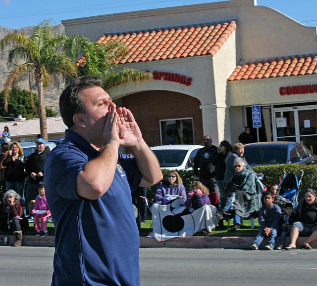 DHS Holiday Parade 2012 - Dr. Brian McDaniel (7543)