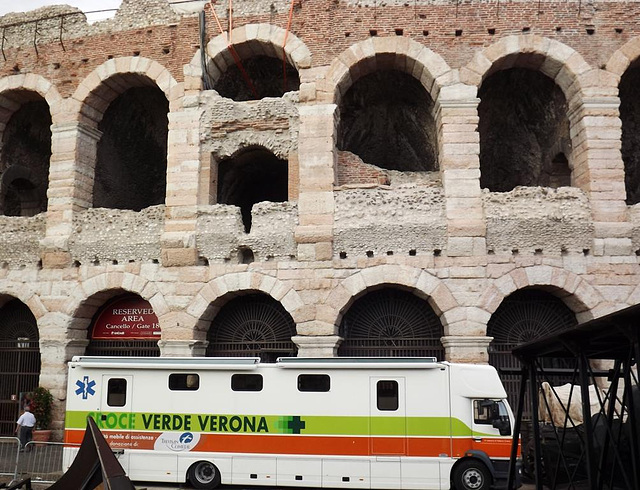 gladiators emergency unit at The Arena
