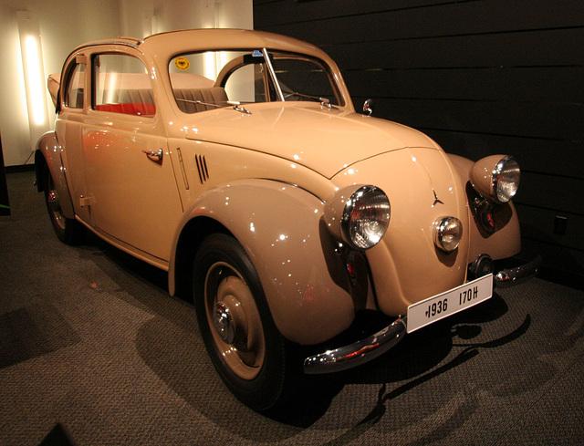 1938 Mercedes 170H - Petersen Automotive Museum (8166)