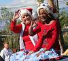 DHS Holiday Parade 2012 - Mayor Parks & Councilmember Pye (7786)