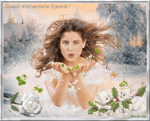 Joyeux Anniversaire Djemila ! gros bisous♫