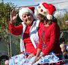 DHS Holiday Parade 2012 - Mayor Parks & Councilmember Pye (7788)