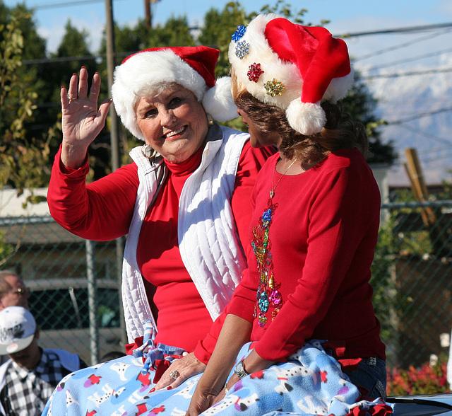 DHS Holiday Parade 2012 - Mayor Parks & Councilmember Pye (7790)