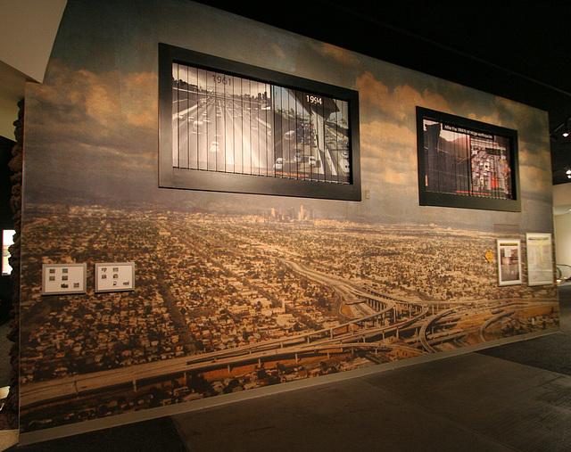 Freeway display - Petersen Automotive Museum (8048