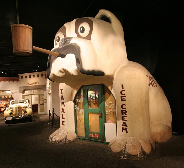 Tamale & Ice Cream Stand - Petersen Automotive Museum (8002