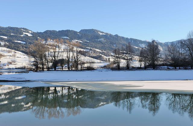 Au lac de Gruyère...