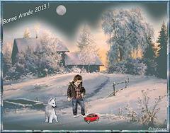Bonne et heureuse année 2013 à toutes et à tous !