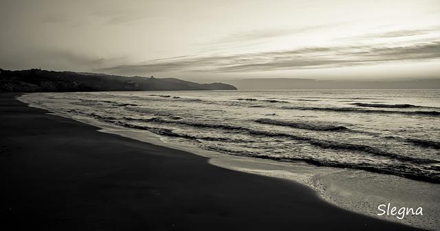 Sortida del sol a la platja del Far