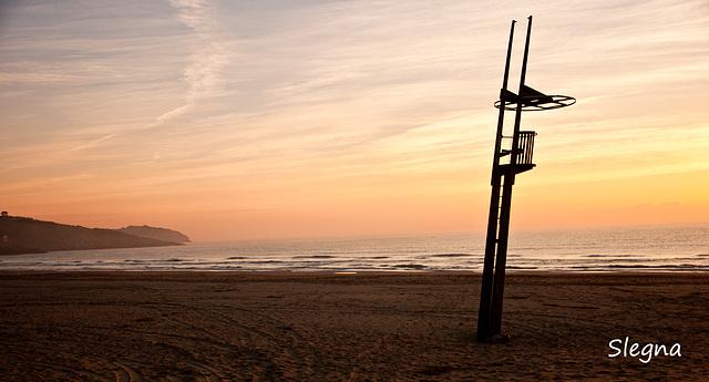 La torre de guaita de la platja del Far