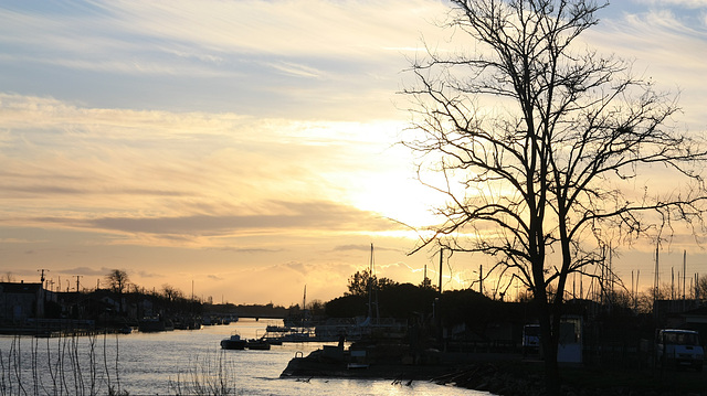 coucher de soleil Oleron