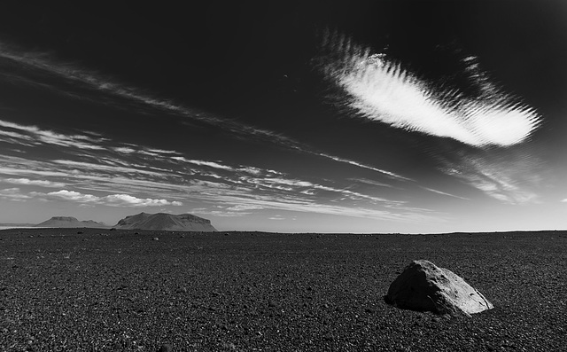 the cloud and the rock