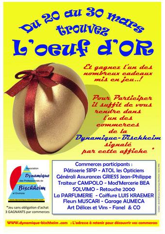 Affiche paques Une création de declic67 !