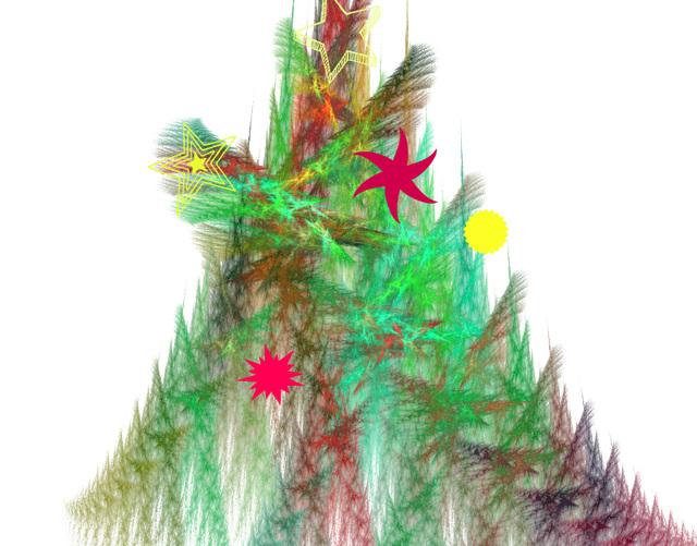 Arbre de Noël Apophysis