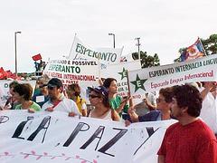 Monda Socia Forumo, Porto Alegre, 2003.