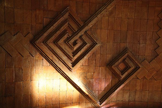 Dekoration im Treppenhaus