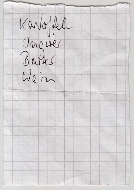 Shopping List 03