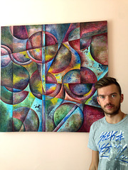 "Sergey Sokolov & my art ""Inscrutable"""